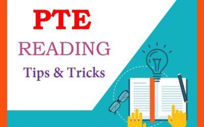 PTE Tips & Tricks For Reading