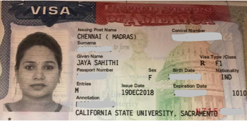 Sahiti student visa Novus Education
