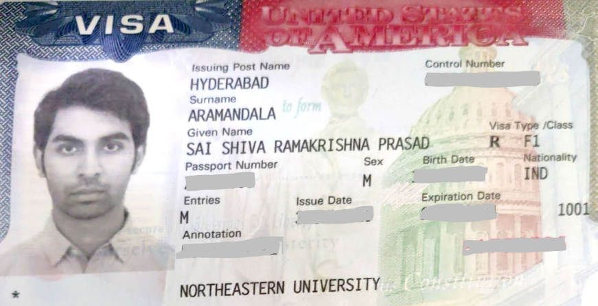 Sai Shiva student visa Novus Education