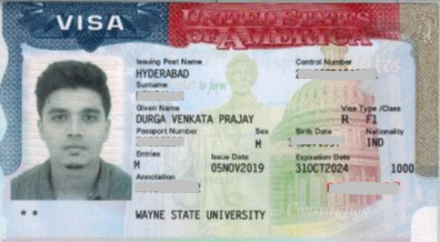 Prajay student visa Novus Education