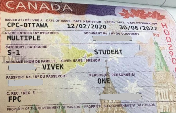 Vivek student visa Novus Education