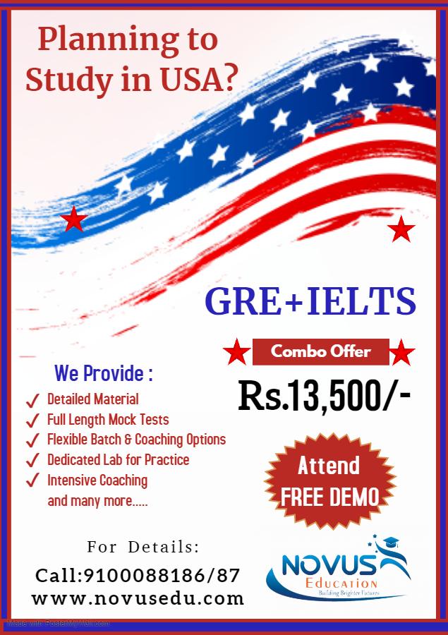 GRE+IELTS